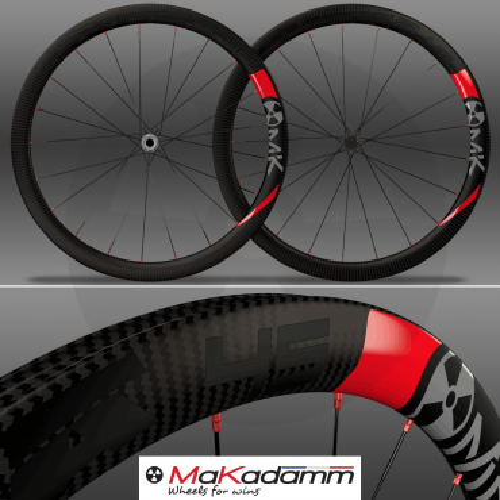 MaKadamm evora 45 disc xpremium à pneus / tubeless