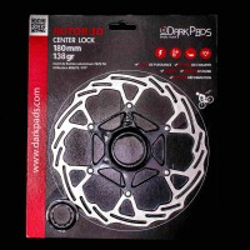DarkPads ROTOR 3D CenterLock 180mm - 93gr
