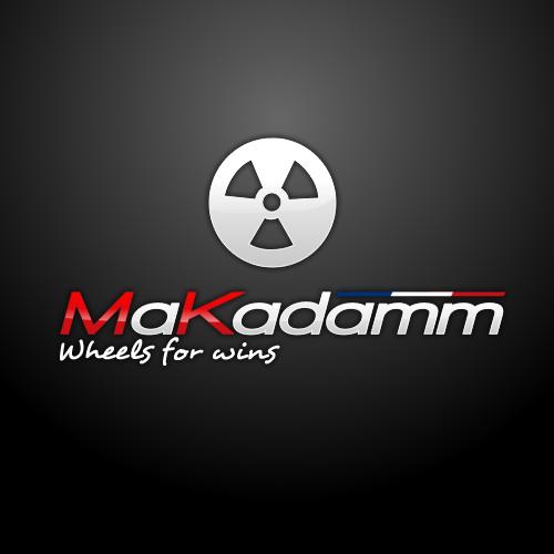 MaKadamm all black classic à pneus 1390gr la paire